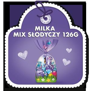 MILKA MIX SŁODYCZY 126g