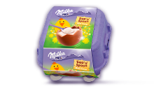 MILKA EGG'N'SPOON MILK CREME 136g