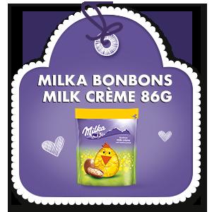 MILKA BONBONS MILK CRÈME 86g