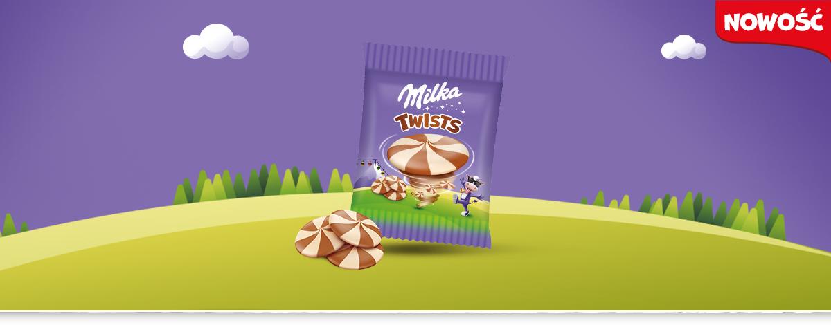 MILKA TWISTS 14.4 g