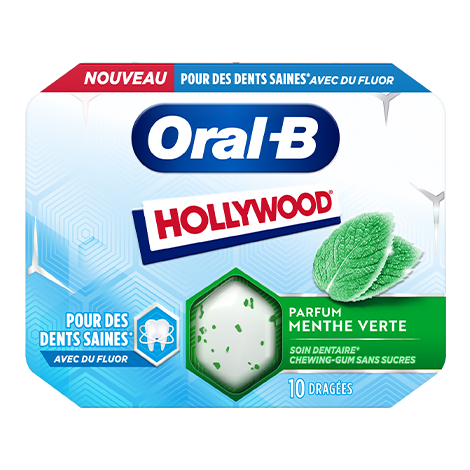 Hollywood Oral-B Menthe Verte