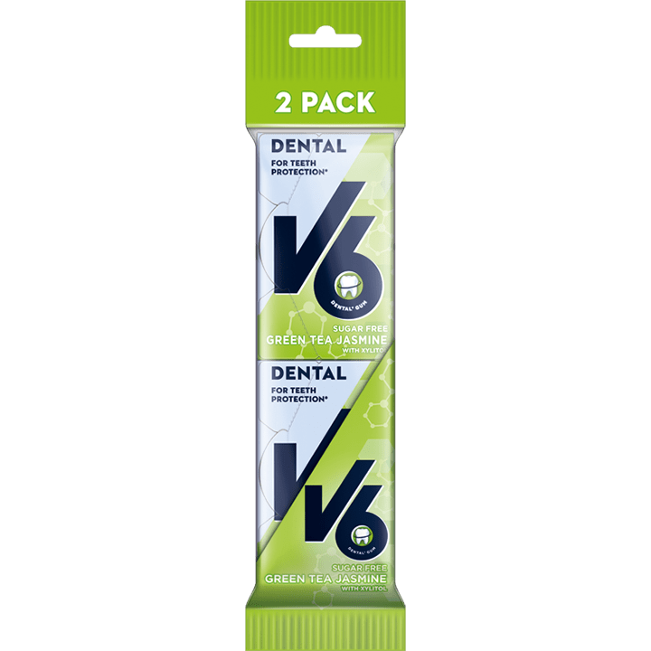 V6 Dental Green Tea Jasmin