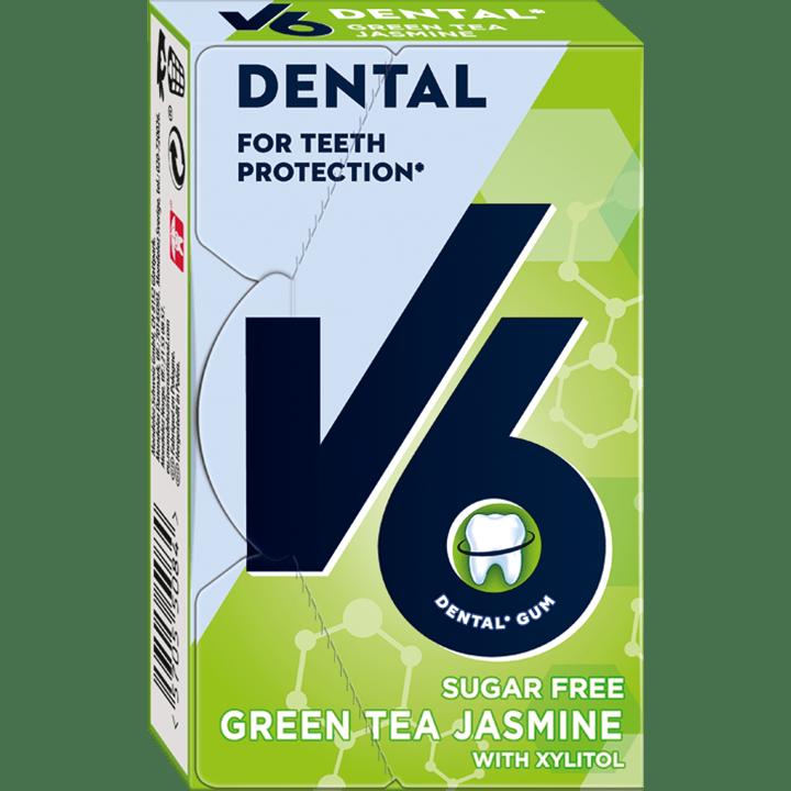 V6 Dental Green Tea Jasmine