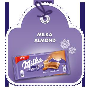 MILKA ALMOND 90G