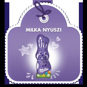 Milka Nyúlfigura 50g