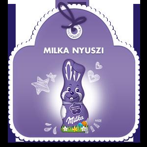 Milka Nyúlfigura 100g