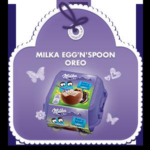 Milka Egg'n'Spoon OREO 128 g