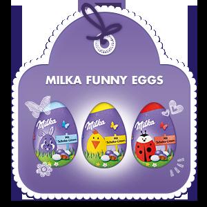 Milka Funny egg 50g