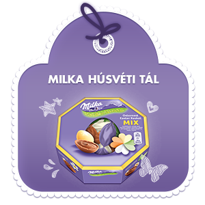 Milka Húsvéti kínáló tál 144g