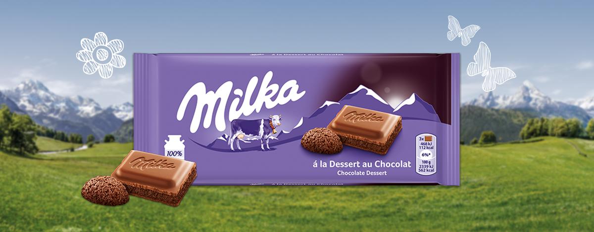 MILKA CHOCO DESSERT 100G