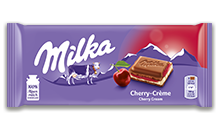 MILKA CHERRY CREAM 100G