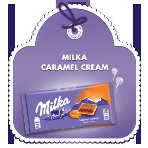 MILKA CARAMEL CREAM 100G