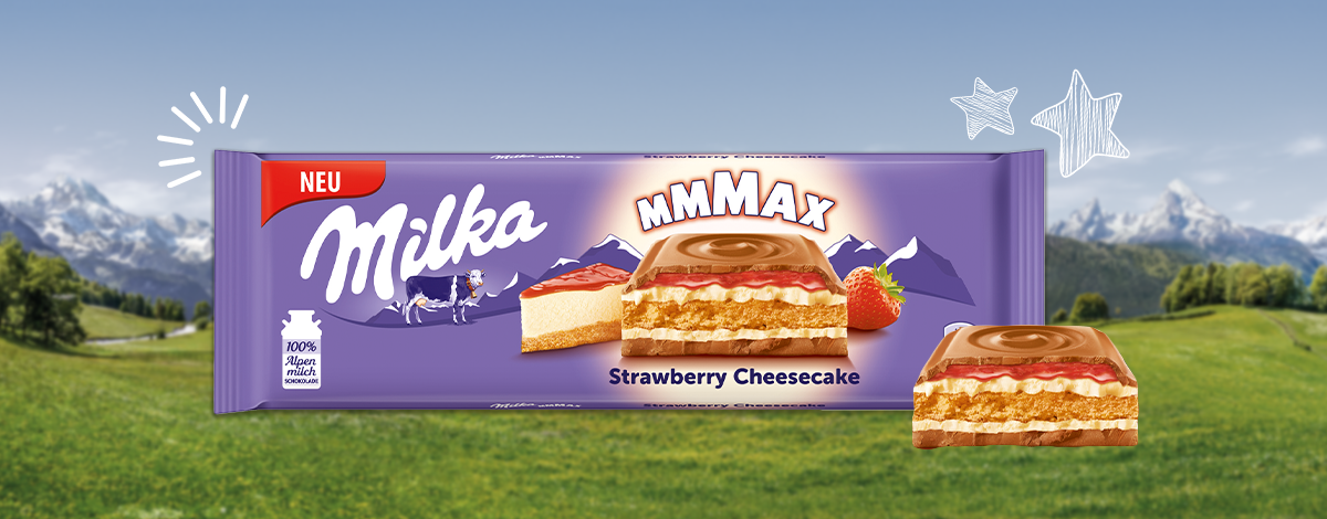 MILKA MMMAX EPRES SAJTTORTA 300G