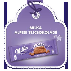 Milka Mmmax Alpesi Tejkcsokoládé 270G