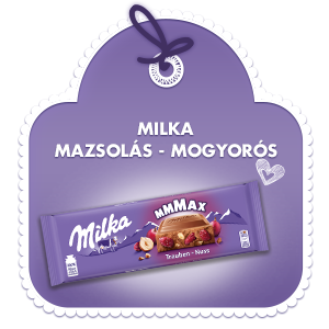Milka Mmmax Mazsolás mogyorós 270G