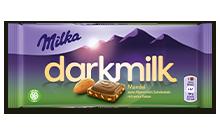 MILKA DARK MILK MANDULÁS 85G