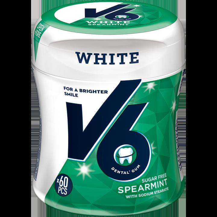 V6 White Spearmint