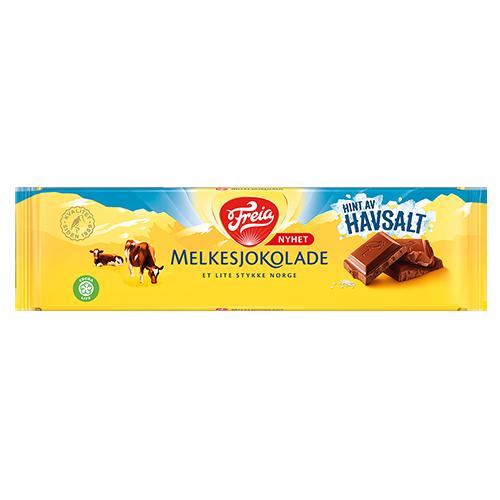 Freia Melkesjokolade Havsalt