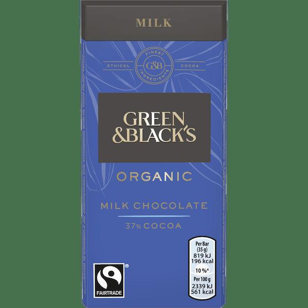 Green and Blacks Organic Milk Chocolate 35g
