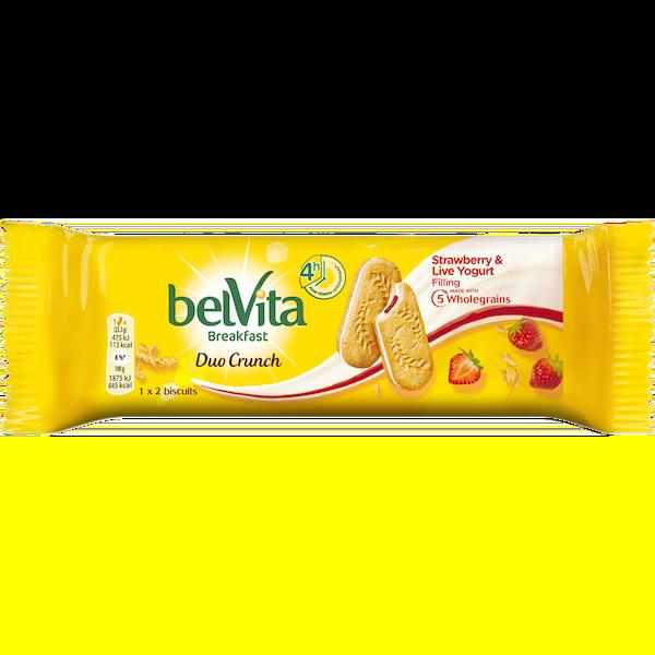 Belvita Strawberry Duo
