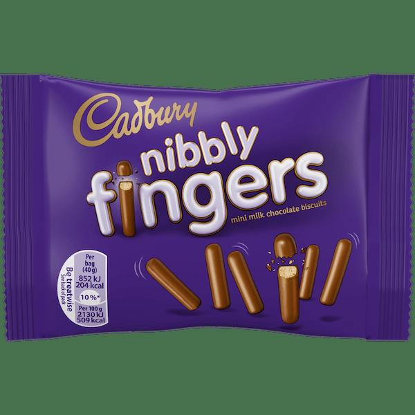 Cadbury Mini Fingers 40g Bag
