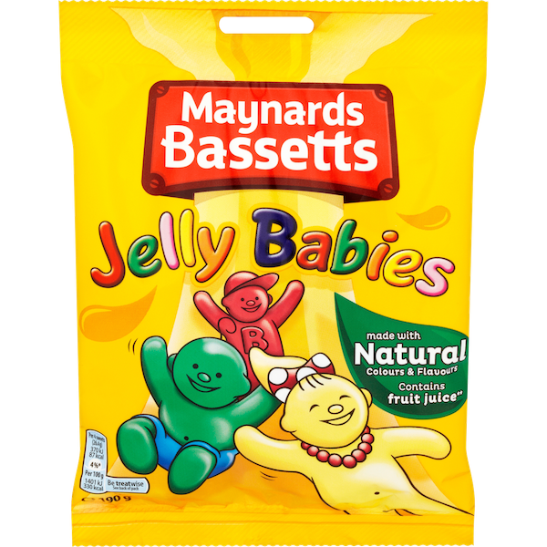 Bassetts Jelly Babies Grab Bag