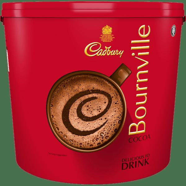 Cadbury Bournville Cocoa Powder 4KG Tub