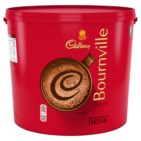 Cadbury Bournville Cocoa Powder 1-5kg Tub