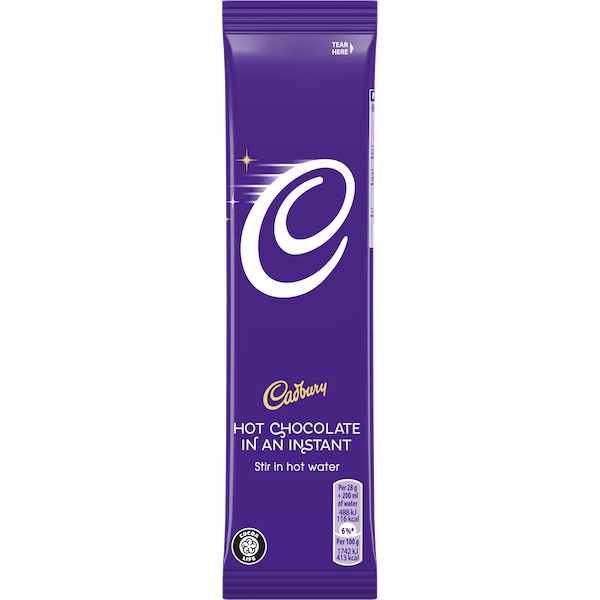 Cadbury Instant Hot Chocolate Sachets