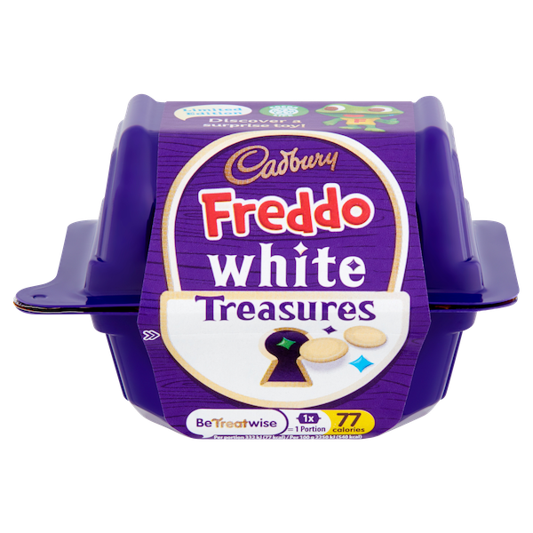 Cadbury Freddo Treasures White Chocolate