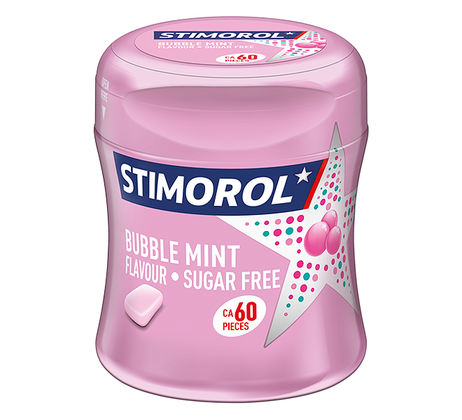 Stimorol Bubblemint Bottle
