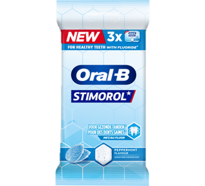 STIMOROL ORAL-B PEPPERMINT