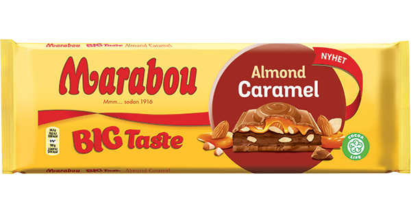 Big Taste Almond Caramel