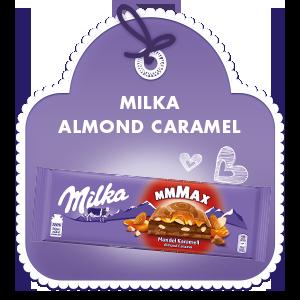 MILKA ALMOND CARAMEL 300G