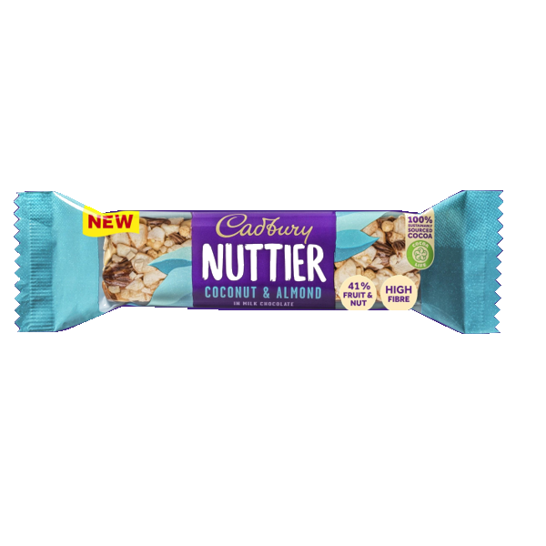 Cadbury Nuttier Coconut and Almond