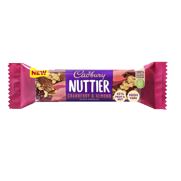 Cadbury Nuttier Cranberry and Almond