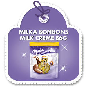 MILKA BONBONS MILK CREME 86 G
