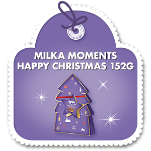 MILKA MOMENTS HAPPY CHRISTMAS 152 G