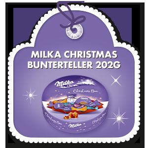 MILKA CHRISTMAS BUNTERTELLER 202 G