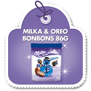 MILKA & OREO BONBONS 86G