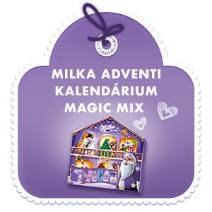 MILKA ADVENTI KALENDÁRIUM MAGIC MIX 204 g