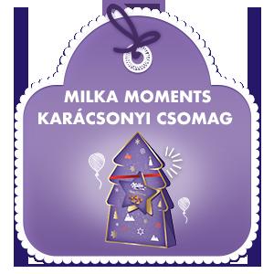 MILKA MOMENTS KARÁCSONYI CSOMAG 152 G