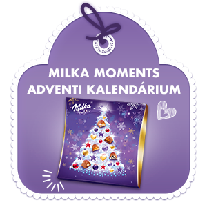 MILKA MOMENTS ADVENTI KALENDÁRIUM 211 G