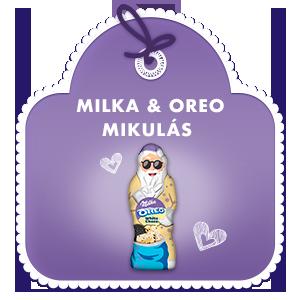 MILKA & OREO MIKULÁS 100 G