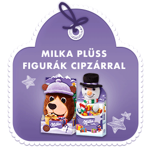 MILKA PLÜSS FIGURÁK CIPZÁRRAL 98 G