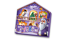 MILKA ADVENTI KALENDÁRIUM MAGIC MIX 204 g