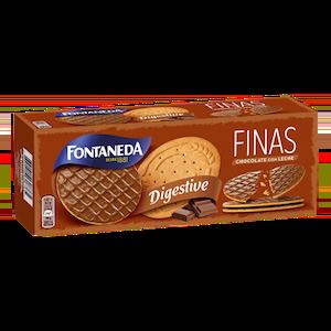 Digestive Finas Chocolate Leche