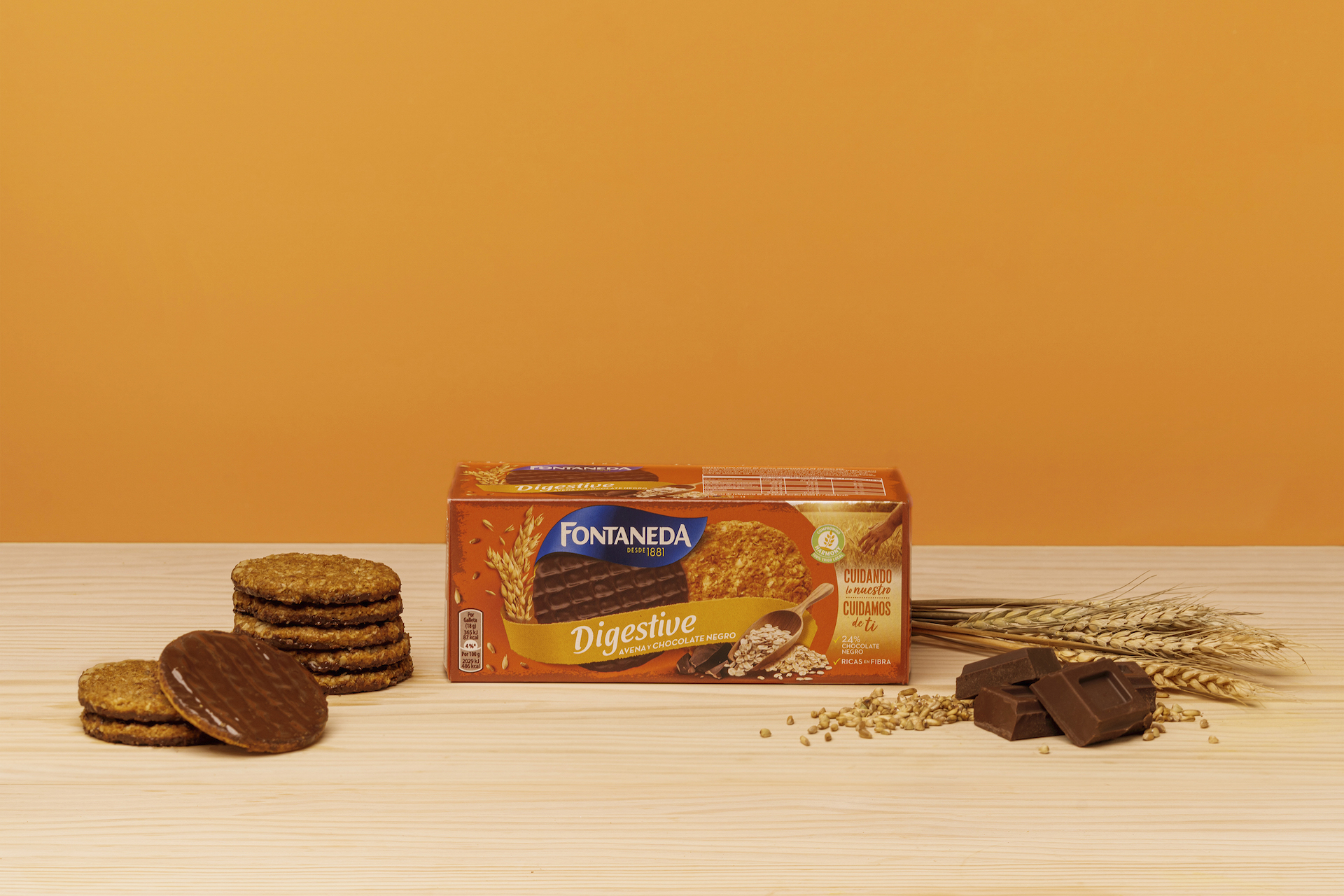 Digestive Avena y Chocolate Negro