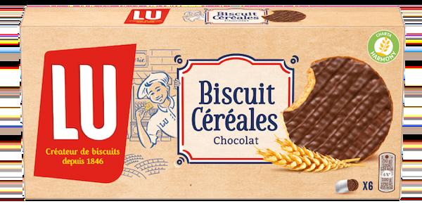 Biscuit Céréales Chocolat