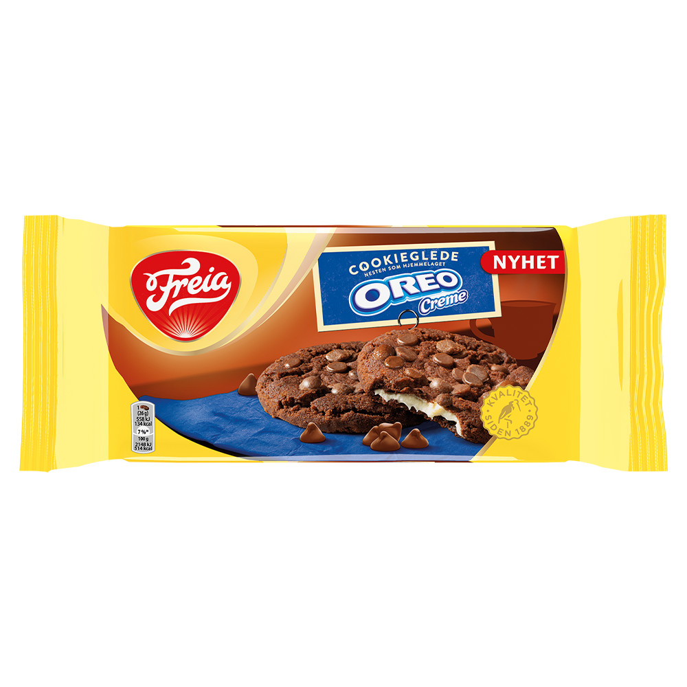 Freia CookieGlede Oreo Créme